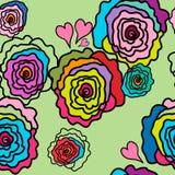 Ροδαλός-α-διαφορετικός-χρώμα Στοκ εικόνα με δικαίωμα ελεύθερης χρήσης