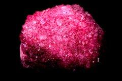Ροδοκόκκινα κρύσταλλα Στοκ εικόνα με δικαίωμα ελεύθερης χρήσης