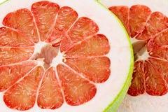 Ροδοκόκκινα Pomelo του Σιάμ φρούτα Στοκ Εικόνες
