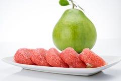 Ροδοκόκκινα Pomelo του Σιάμ φρούτα Στοκ φωτογραφίες με δικαίωμα ελεύθερης χρήσης