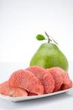 Ροδοκόκκινα Pomelo του Σιάμ φρούτα Στοκ φωτογραφία με δικαίωμα ελεύθερης χρήσης
