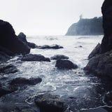 Ροδοκόκκινη παραλία Ουάσιγκτον Στοκ φωτογραφία με δικαίωμα ελεύθερης χρήσης