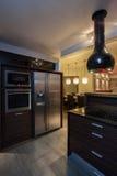 Ροδοκόκκινο σπίτι - κουζίνα Στοκ Εικόνα