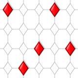 Ροδοκόκκινο σχέδιο Στοκ εικόνα με δικαίωμα ελεύθερης χρήσης