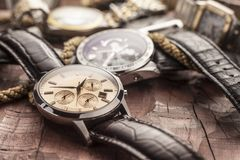 Ρολόγια ατόμων Στοκ εικόνες με δικαίωμα ελεύθερης χρήσης