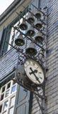 Ρολόγια της Γερμανίας Monschau Στοκ Εικόνα