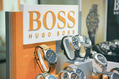 Ρολόγια της Hugo Boss Στοκ Εικόνες