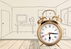 ρολόι αναδρομικό Στοκ Φωτογραφία