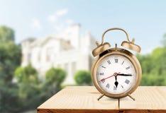 ρολόι αναδρομικό Στοκ εικόνα με δικαίωμα ελεύθερης χρήσης