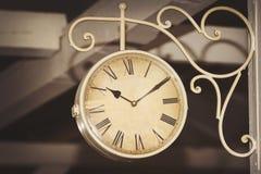 ρολόι αναδρομικό Στοκ φωτογραφίες με δικαίωμα ελεύθερης χρήσης