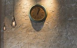ρολόι αναδρομικό Στοκ φωτογραφία με δικαίωμα ελεύθερης χρήσης