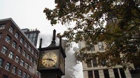 Ρολόι ατμού σε Gastown Βανκούβερ Π.Χ. Καναδάς Στοκ φωτογραφία με δικαίωμα ελεύθερης χρήσης