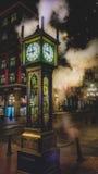 Ρολόι ατμού του Βανκούβερ στοκ εικόνες με δικαίωμα ελεύθερης χρήσης