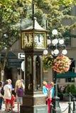 Ρολόι ατμού Στοκ Εικόνα