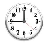 Ρολόι γραφείων διανυσματική απεικόνιση