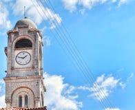 Ρολόι εκκλησιών Στοκ φωτογραφία με δικαίωμα ελεύθερης χρήσης