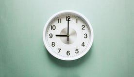 Ρολόι εννέα ο ` Στοκ φωτογραφίες με δικαίωμα ελεύθερης χρήσης