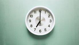 Ρολόι επτά ο ` Στοκ Εικόνα