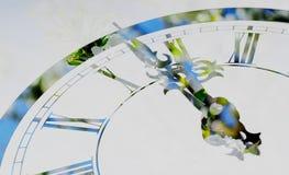 Ρολόι ερχόμενη άνοιξη Στοκ Φωτογραφία