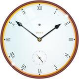 Ρολόι με τους ρωμαϊκούς αριθμούς Στοκ εικόνα με δικαίωμα ελεύθερης χρήσης