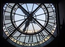 Ρολόι μουσείων στο Παρίσι Στοκ φωτογραφίες με δικαίωμα ελεύθερης χρήσης