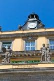 Ρολόι οικοδόμησης του Μόναχου ditail Στοκ Εικόνες