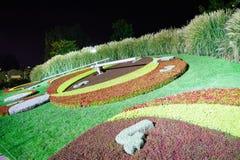 Ρολόι λουλουδιών της Γενεύης Στοκ εικόνες με δικαίωμα ελεύθερης χρήσης
