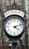 Ρολόι οδών στο Newark, NJ στοκ φωτογραφίες με δικαίωμα ελεύθερης χρήσης