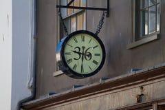 Ρολόι οδών Στοκ Εικόνα