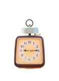 Ρολόι που απομονώνεται εκλεκτής ποιότητας Στοκ Εικόνες