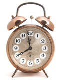 Ρολόι που απομονώνεται κλασικό στοκ φωτογραφία με δικαίωμα ελεύθερης χρήσης