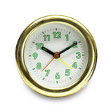 Ρολόι που μονώνεται στο άσπρο υπόβαθρο Στοκ Εικόνα