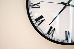 Ρολόι/ρολόι τοίχων Στοκ Φωτογραφίες