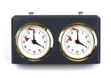 Ρολόι σκακιού Στοκ Φωτογραφία