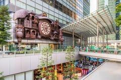 Ρολόι στο Τόκιο Στοκ εικόνες με δικαίωμα ελεύθερης χρήσης
