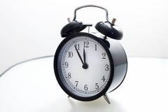 ρολόι συναγερμών 5 12 Στοκ Εικόνες