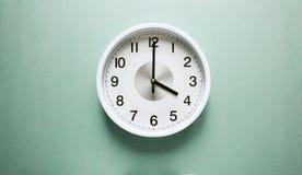 Ρολόι τεσσάρων ο ` Στοκ φωτογραφία με δικαίωμα ελεύθερης χρήσης