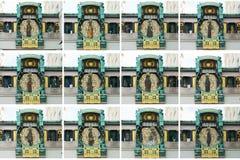 Ρολόι της Anker στη Βιέννη Αυστρία Στοκ Εικόνα
