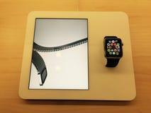 Ρολόι της Apple Στοκ Φωτογραφίες