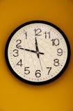 Ρολόι τοίχων φαντασίας Στοκ εικόνα με δικαίωμα ελεύθερης χρήσης