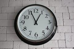Ρολόι τοίχων Στοκ Εικόνες