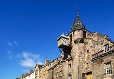 Ρολόι του Εδιμβούργου, Σκωτία Στοκ Εικόνες