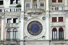 Ρολόι του σημαδιού Αγίου, Βενετία στοκ φωτογραφία