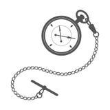 ρολόι τσεπών αλυσίδων Στοκ εικόνα με δικαίωμα ελεύθερης χρήσης