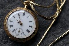 ρολόι 2 τσεπών Στοκ Φωτογραφίες