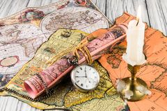 Ρολόι τσεπών Antiquarian Στοκ φωτογραφία με δικαίωμα ελεύθερης χρήσης