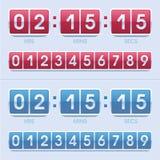 Ρολόι χρόνου και ημέρας Στοκ Εικόνα