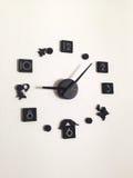 Ρολόι DIY στοκ εικόνες με δικαίωμα ελεύθερης χρήσης