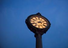Ρολόι Flatiron Στοκ εικόνες με δικαίωμα ελεύθερης χρήσης