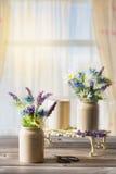Ρυθμίσεις λουλουδιών Στοκ εικόνες με δικαίωμα ελεύθερης χρήσης